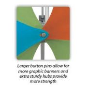 Deluxe Geometrix Fabric Display Kit F button pins