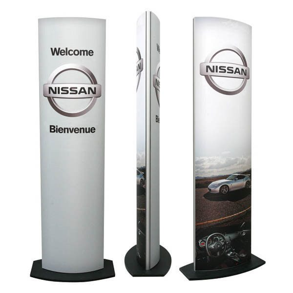 Hinge Stand Display different views