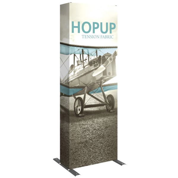 HopUp Display 2.5ft Full Height Tension Fabric Display