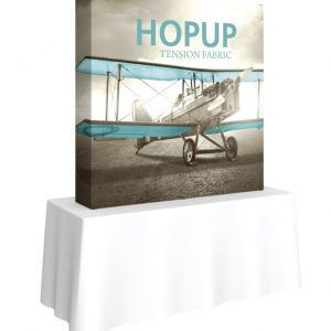 HopUp 5.5ft Square Table Top Tension Fabric Display