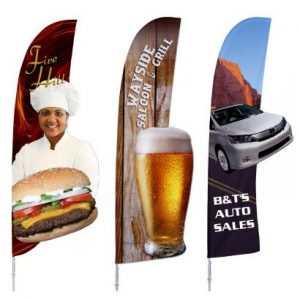 Bowflag Custom Shapes Banner Stands