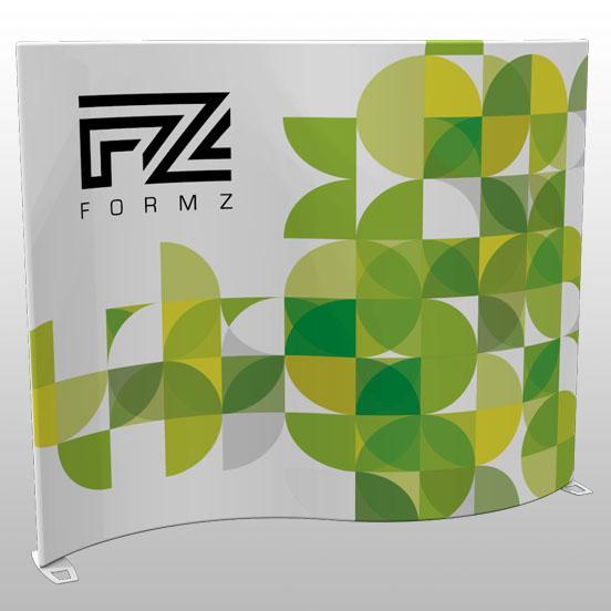 Formz Wave Backwall Display