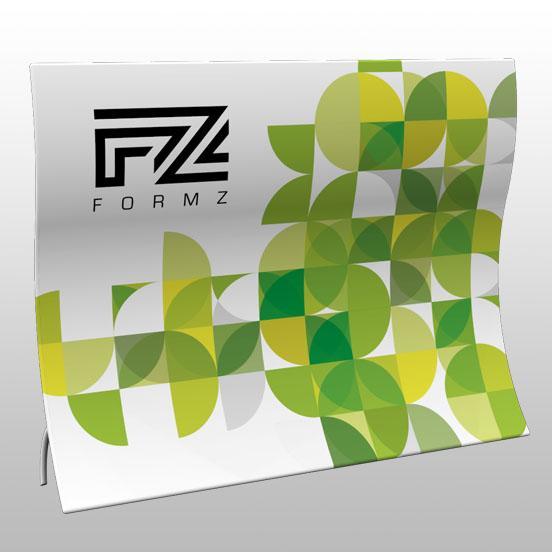 Formz Helix Backwall Display
