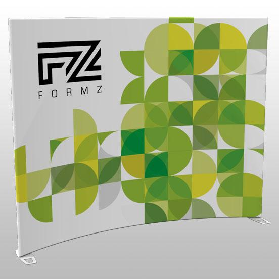 Formz Crescent Backwall Display