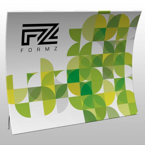 Formz Scoop Backwall Display