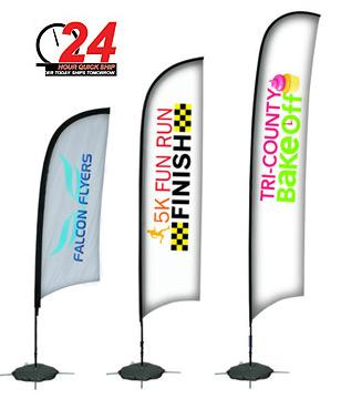 24 Hour QuickShip Sail Sign Banners