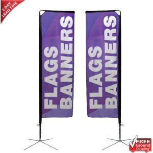 Mamba Sail Banner Stand