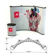 PL3 Graphic Mural Pop Up Displays with duraprint graphics