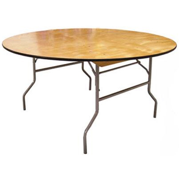 Round Plywood Folding Tables, Banquet Tables, Portable Table, Trade Show Table, Truss Table, Hospitality Table