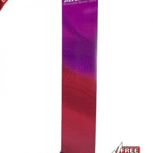 Silver Step Retractable Banner Stand - 24""