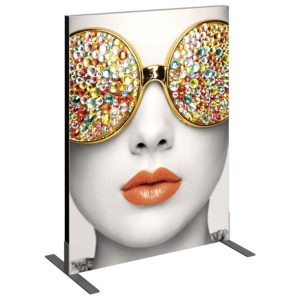 Vector Frame Essential Backwall Display Rectangle 01 Tension Fabric Displays