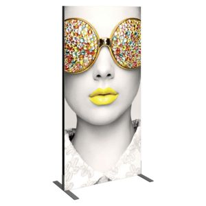 Vector Frame Essential Backwall Display Rectangle 02 Tension Fabric Displays