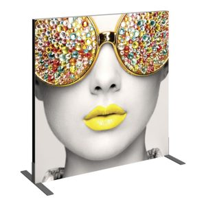 Vector Frame Essential Backwall Display Square 02 Tension Fabric Displays