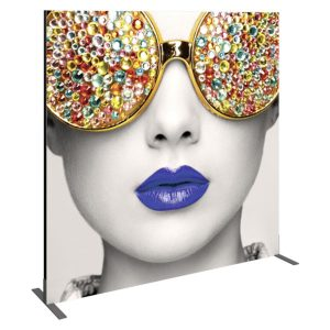 Vector Frame Essential Backwall Display Square 03 Tension Fabric Displays