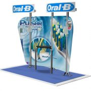 Pronto 1070 Graphics Backwall Display System Exhibit