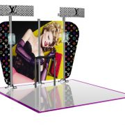 Pronto 1070 Graphics Backwall Display System Booth