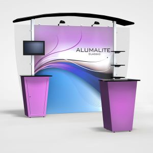 10Ft Alumalite Classic Arch AL2 Hybrid Display