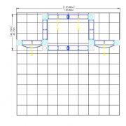 Orbital Truss Eros 10 x 10 Exhibit Displays diagram