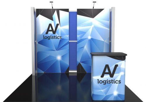 Hybrid Pro Modular Kit 05, hybrid trade show displays, Modular displays, hybrid display, hybrid exhibits, hybrid displays, custom modular exhibits