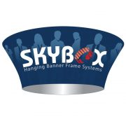 Skybox-Tapered-Round-Hanging-Banner-Display