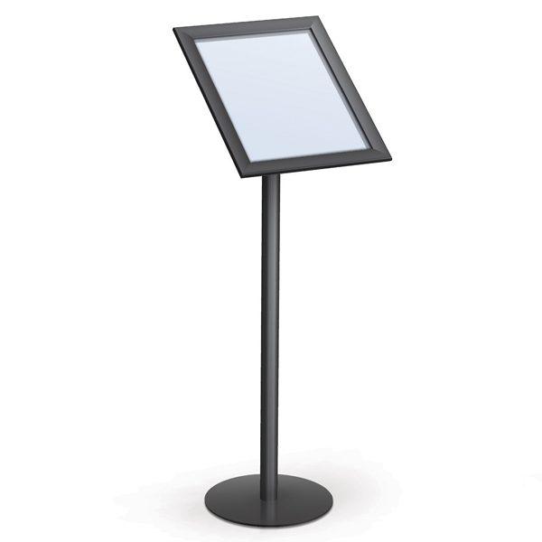 Angled Snap Frame Pedestal Stands Straight