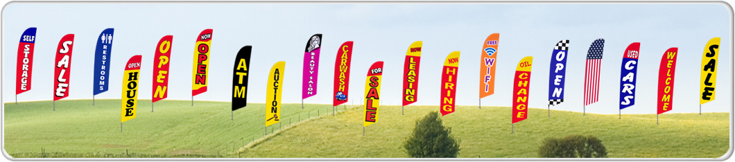 Sail Banners | Outdoor Flying Flag Banners | Teardrop