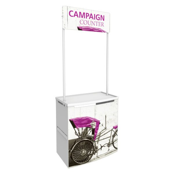 Campaign Promotional Counter For Indoors And Outdoors