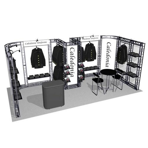 Salinas EZ-6 Truss Kit for 10x20 Booths