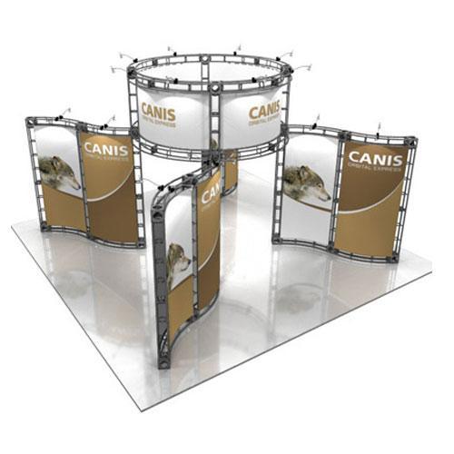 Orbital Truss Canis 20 x 20 Displays Exhibit