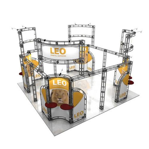 Orbital Truss Leo 20 x 20 Trade Show Displays