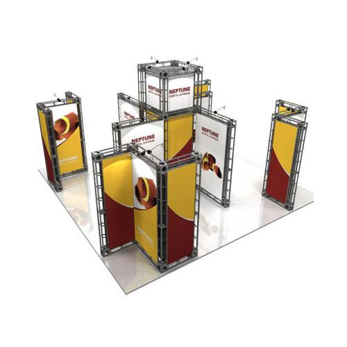 Orbital Truss Neptune 20 x 20 Exhibit Displays
