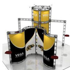 Orbital Truss Vega 20 x 20 Exhibit Truss Displays