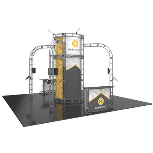 Orbital Truss Vesta 20 x 20 Trade Show Exhibit Displays