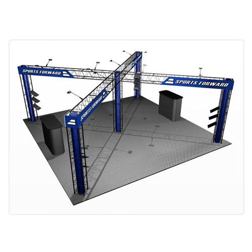 EZ-12 20x20 Quartz Exhibit Display Truss