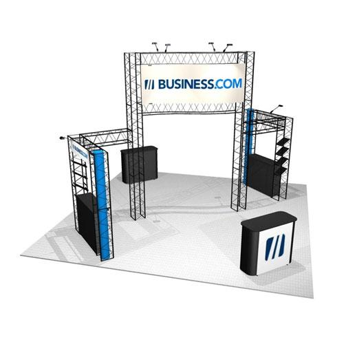EZ-12 20x20 Sapphire Trade Show Booth