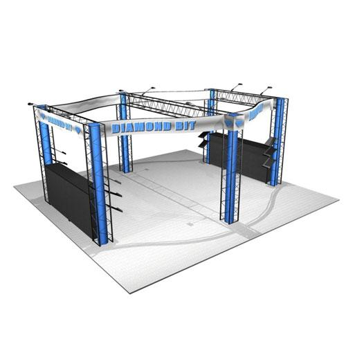 EZ-12 20x20 Diamond Display Truss