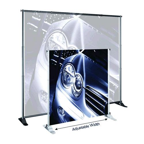 JUMBO Adjustable Banner Stands
