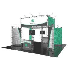 Orbital Truss Aarhus 20 x 20 Trade Show Booth