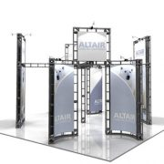 Orbital Truss Altair 20 x 20 Exhibit Booths Kit