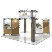 Orbital Truss Canis 20 x 20 Displays Exhibit Kit