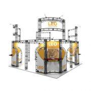Orbital Truss Leo 20 x 20 Trade Show Displays Kit