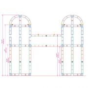 Orbital Truss Centaurus 20 x 20 Display Truss Frame