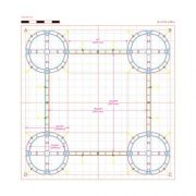 Orbital Truss Centaurus 20 x 20 Display Truss Diagram