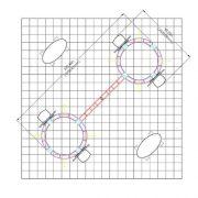 Orbital Truss Gemini 20 x 20 Trade Show Displays floor layout