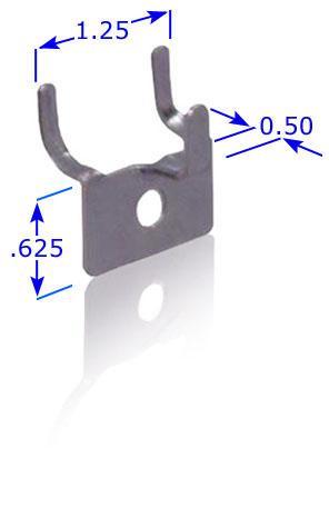 Free Standing SlatWall Pin Up Hooks