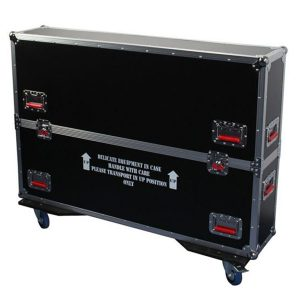 Road Wood Case For LCD LED Or Plasma Screens