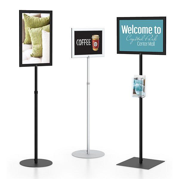 SF Pedestal Sign Frame Different Sizes