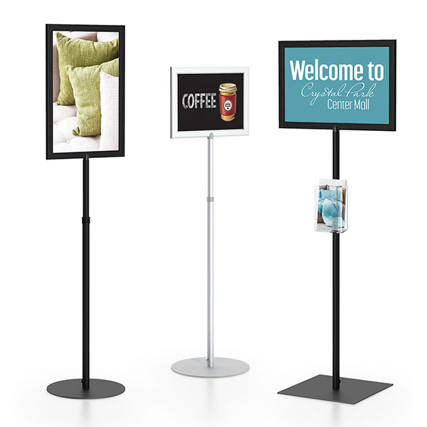 SF Pedestal Sign Frame Different Sizes