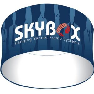 Exhibit Hanging Skybox Circle Signs