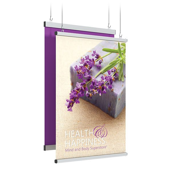 SnapGraphics T Holder Hanging Banner